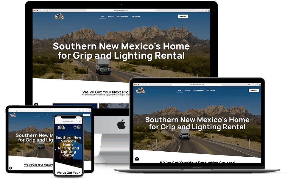 Website design for New Mexico Businesses